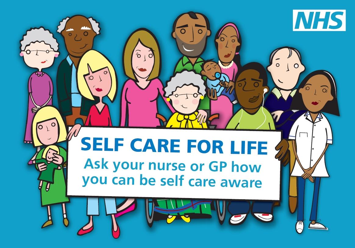 'Self Care Aware' poster
