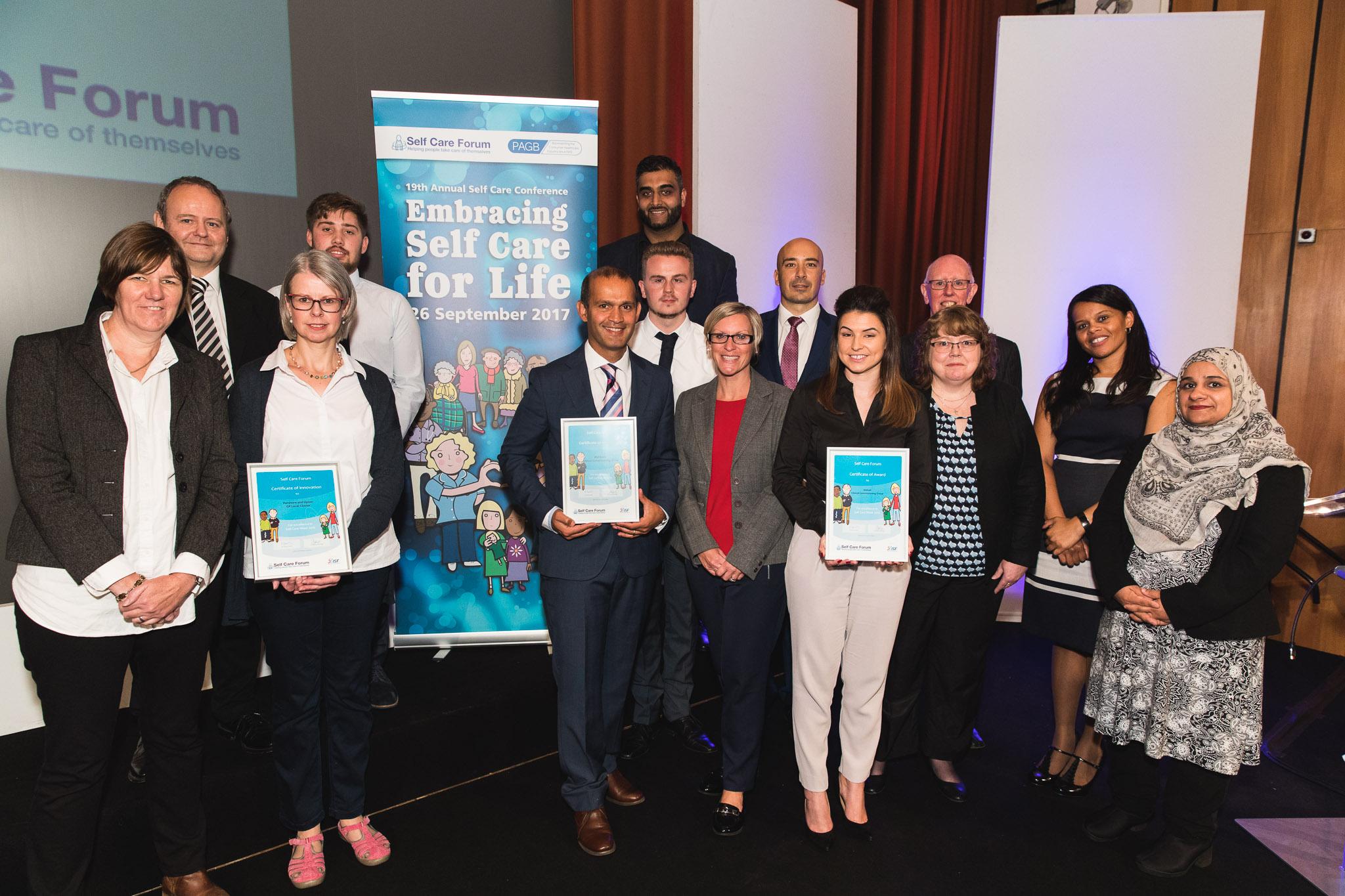 Self Care Week Award 2016 Winners